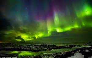 Best Time Of Year To See Northern Lights by Photographer Captures The Northern Lights Way And