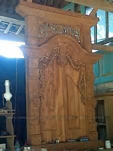 Dipan Kayu Nangka jual pintu kusen gebyok rumah kayu jati ukiran jepara
