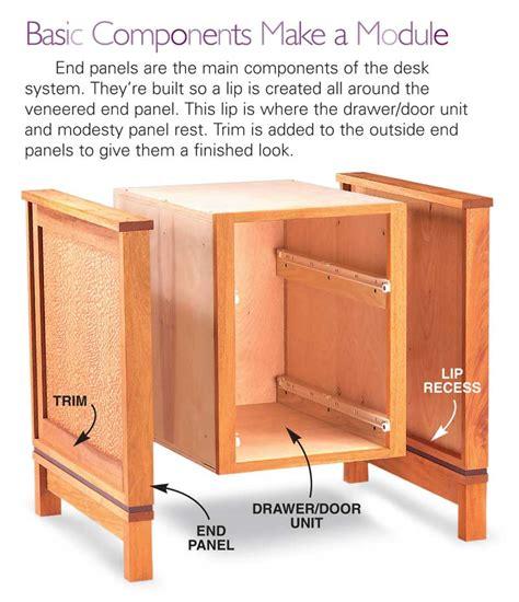 modular desk system how to build a modular desk system free diy desk plans
