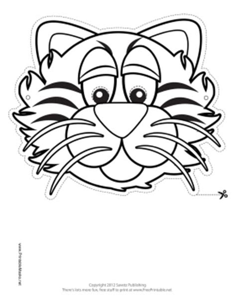 printable tiger mask template 225 best images about kids hooded towels appliqu 233 s on
