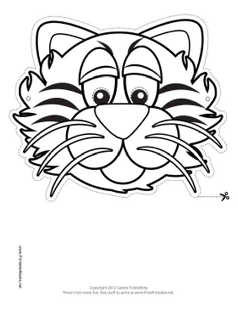 tiger mask coloring page tiger mask to color printable mask carnestoltes pinterest