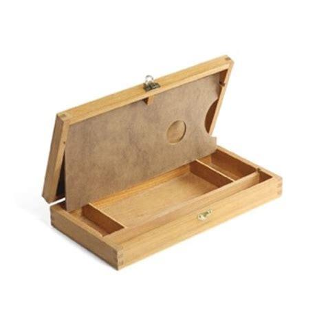 cassetta in legno cassetta portacolori in legno piccola cm 16x32x5h