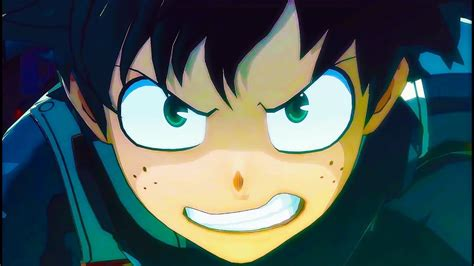 my hero academia 2 841669351x my hero academia one s justice official teaser trailer ps4 xbox one switch pc youtube