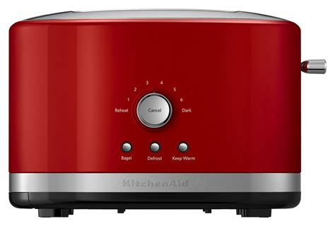 Cuisinart 4 Slice Toaster Stainless Steel Kitchenaid Kmt2116er 2 Slice Extra Wide Slot Toaster Red