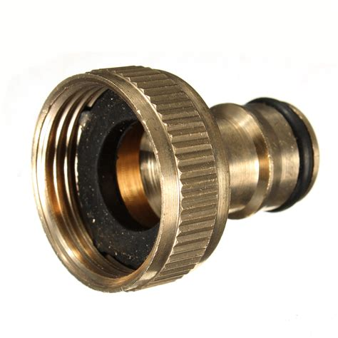 Fitting Fitting 4x 3 4 brass threaded garden hose water tap fittings solid