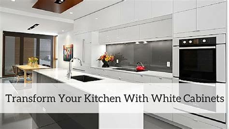 Transform Kitchen Cabinets by Transform Your Kitchen With White Cabinets