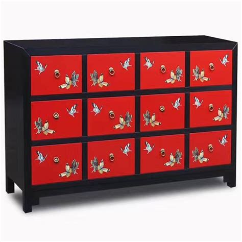 Commode Papillon by Commode Chinoise Laqu 233 E Et Papillons 12