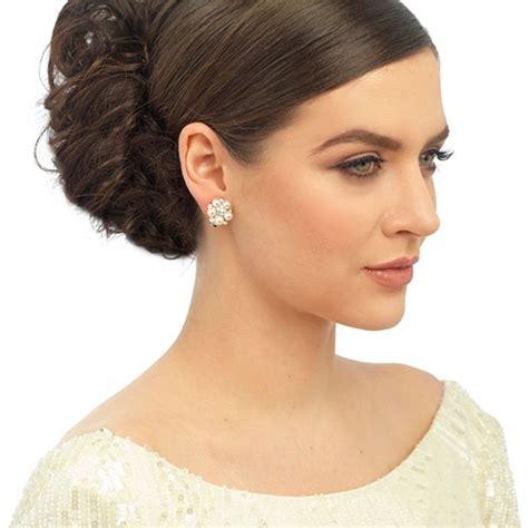Wedding Clip On Pearl Earrings by Clip On Pearl Wedding Earrings Zaphira Bridal