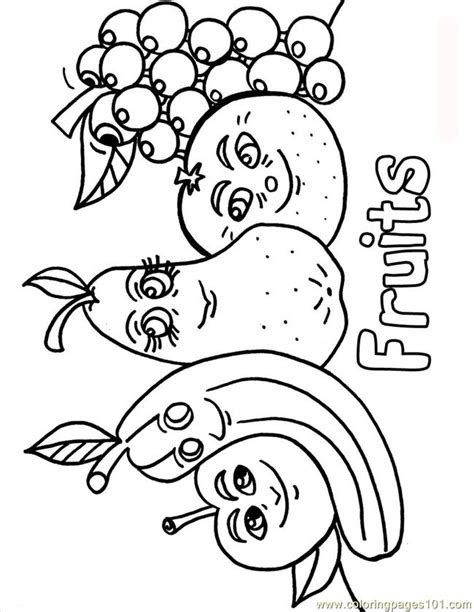 Harvest Fruits And Vegetable Coloring Pages Coloring Pages Fruits And Vegetables Coloring Pages
