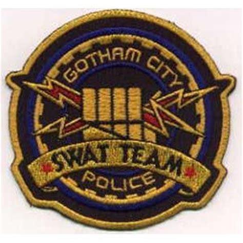 Tshirtkaosbaju Swat Gotham City batman gotham city swat team logo patch logos and gotham city