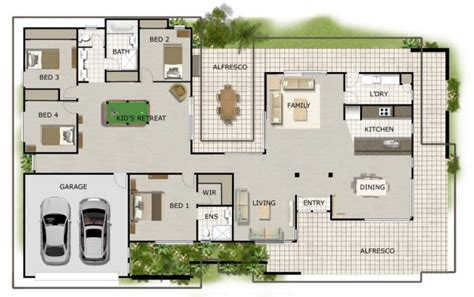 4 Bedroom House Designs Australia Australian House Floor Plans Homestead House Design 4 Bedroom