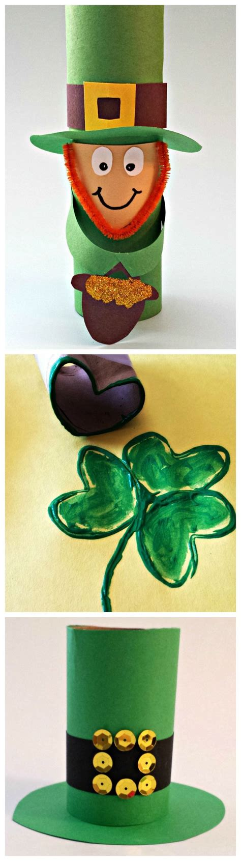 Leprechaun Toilet Paper Roll Craft - 2015 top 20 easy st s day crafts ideas fashion
