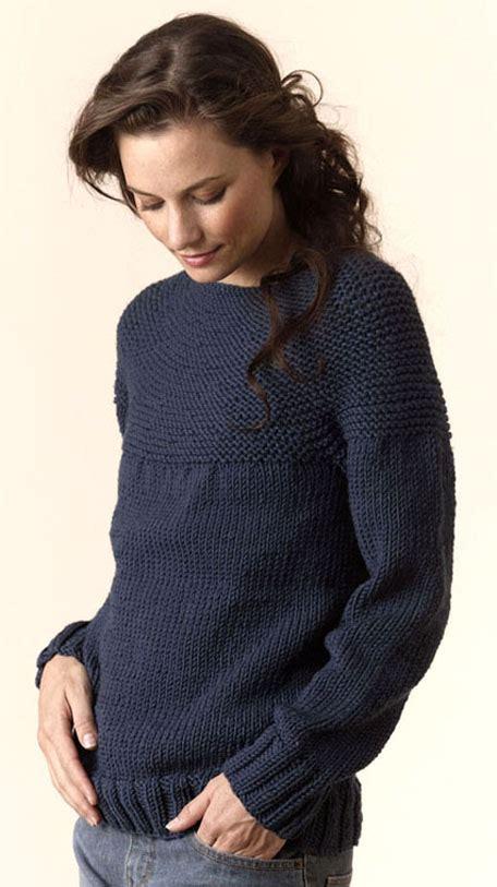 Sweater Hk Onde torino bulky circular pullover tahki charles