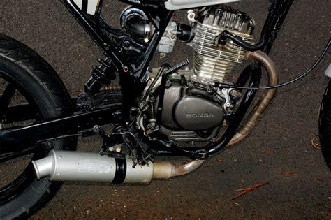 Mesin Vulkanisir Ban Motor honda cb 125 76 makin keren gilamotor