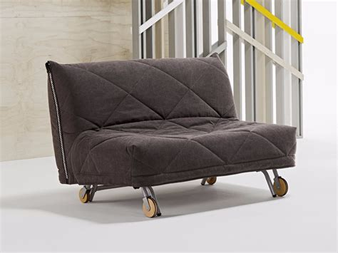 divano con ruote divano letto imbottito in tessuto a 2 posti con ruote