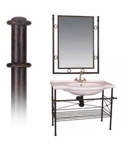 wrought iron bathroom mirrors offer wrought iron bathroom furniture and mirror