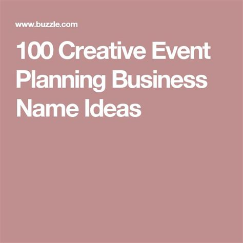 event design company names best 25 event planning business ideas on pinterest
