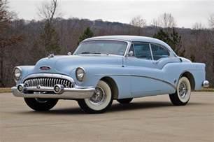 53 Buick Parts 1953 Buick Skylark 2 Door Hardtop Barrett Jackson