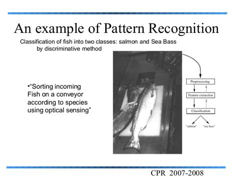 exles of pattern recognition pattern recognition