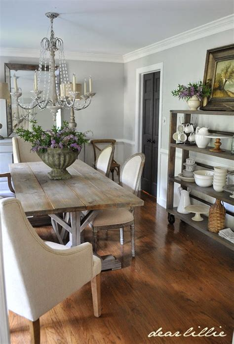 dear lillie our updated dining room with a new farmhouse
