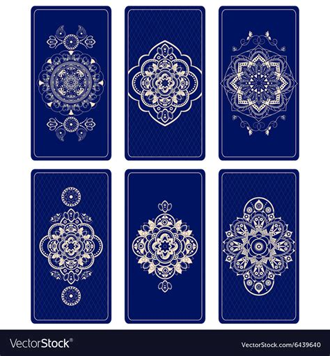 Tarot Card Template Photoshop by For Tarot Cards Royalty Free Vector Image Vectorstock