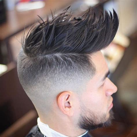 Faux Cut Hairstyle by 25 Faux Hawk Fohawk Haircuts S Haircuts