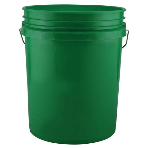 leaktite 5 gal green pack of 3 209336 the home