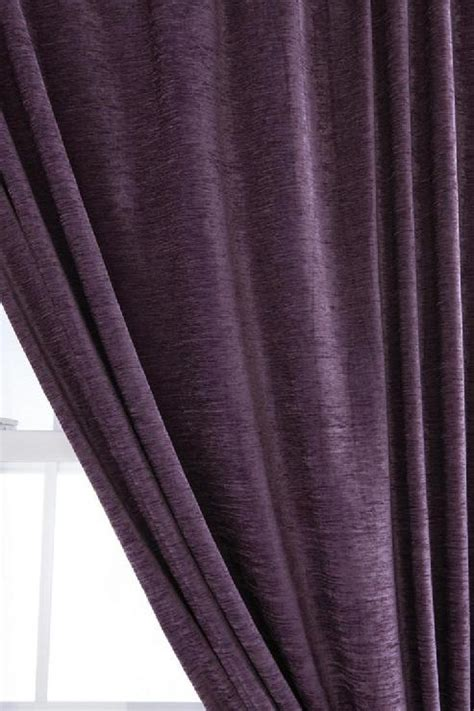 purple velvet drapes urbanoutfitters com gt textured velvet curtain
