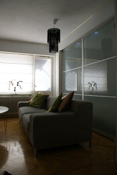 ikea pax sliding doors room divider holy cow this turned his studio apartment into a one