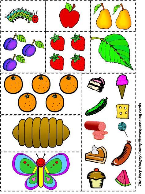 the hungry caterpillar template dltk s template printing