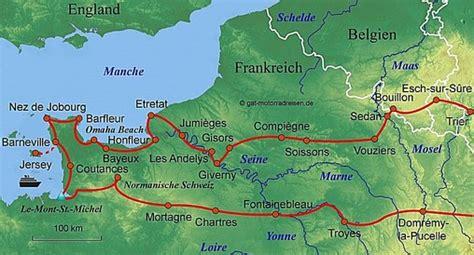 Motorrad Tour Normandie motorradreise normandie gef 252 hrte motorradtouren