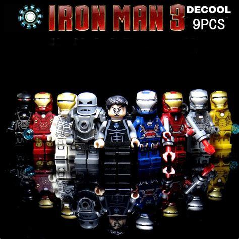 Lego Bootleg Ironman Minifigure 03 compra heroes de juguete al por mayor de