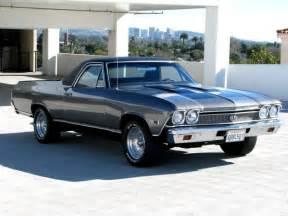 seller of classic cars 1968 chevrolet el camino gray black