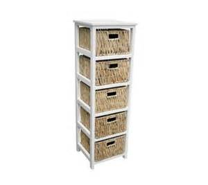 rattan bathroom storage new 5 drawer tallboy white bathroom storage cabinet rattan