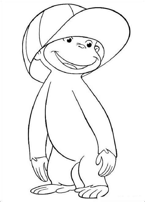 Curiose George Coloring Pages 6 Coloring Kids George Coloring Pages