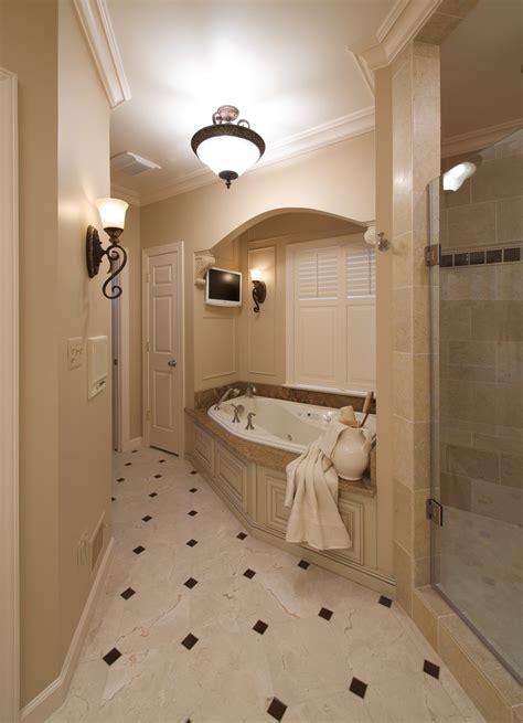 granite tub surround bathroom traditional  accent