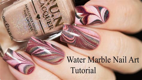 water marble nail art tutorial in hindi 14 best nails video images on pinterest nailed it nail