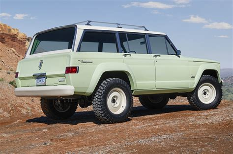 jeep wagoneer concept relive the 60s with jeep s fabulous wagoneer roadtrip