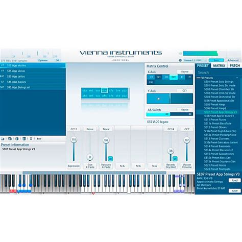 String Software - vienna instruments special edition vol 2 strings software