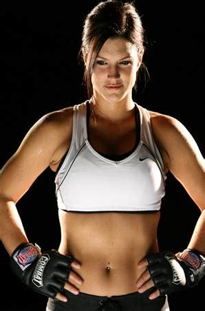 gina carano bench press the top 10 hottest sexiest ufc octagon ring girls muscle prodigy
