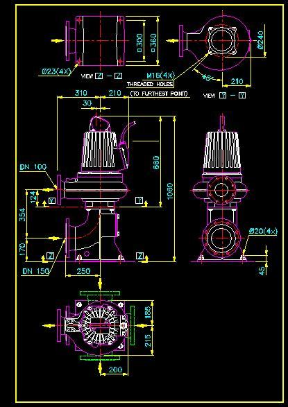 water pump dwg block  autocad designs cad