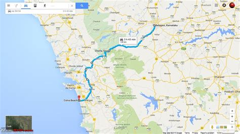 road map from mapusa to belgaum bangalore goa route queries page 208 team bhp