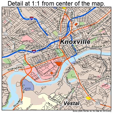 Search Knoxville Tn Knoxville Tennessee Map 4740000