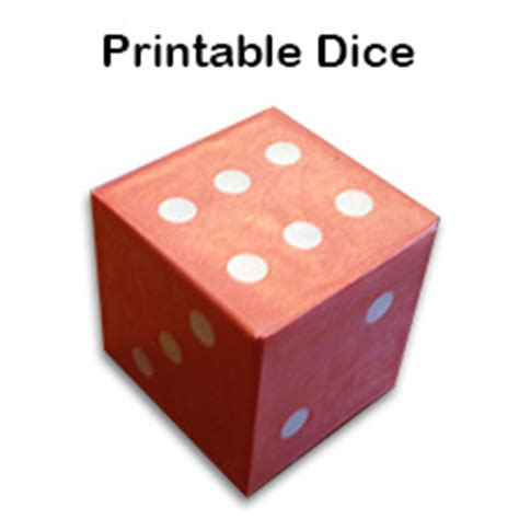 How To Make A Dice Out Of Paper - printable paper cube template learn how to make a cube