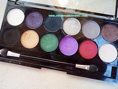 Harga Inez Eyeshadow Palette racun warna warni favorit produk ii