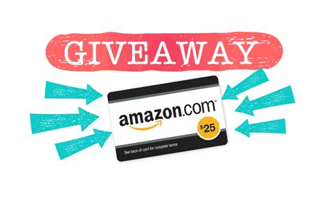 Amazon Giveaway Winners - win 25 worth amazon gift card bonjourlife