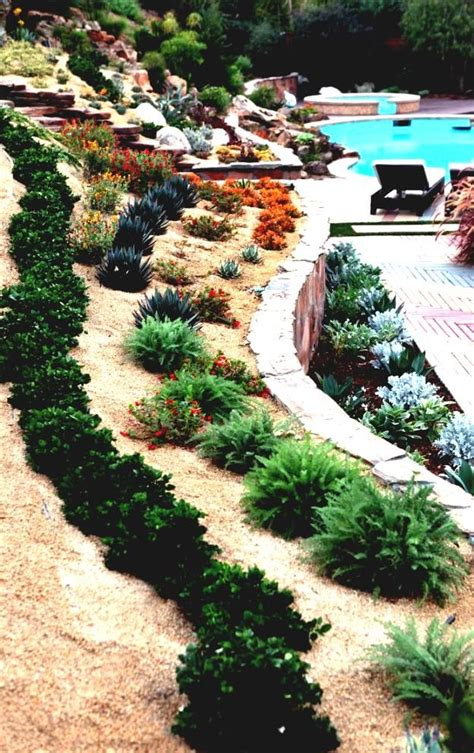 steep front yard landscaping ideas 1000 images about gardening on landscape