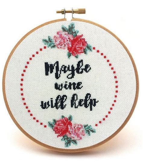 Up With Snarky Snarky Gossip 2 by Maybe Wine Will Help Snarky Cross Stitch Pattern Cross