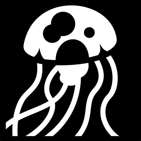 Jellyfish icon | Game-icons.net