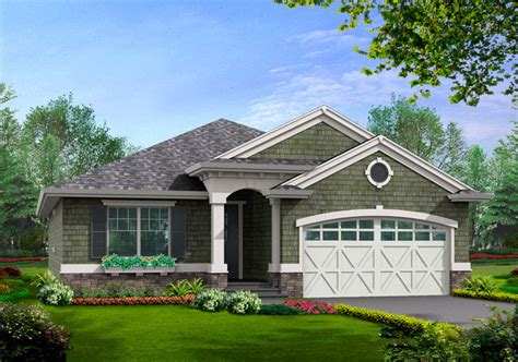 simple craftsman house plans designs with photos simple craftsman ranch with options 23260jd 1st floor